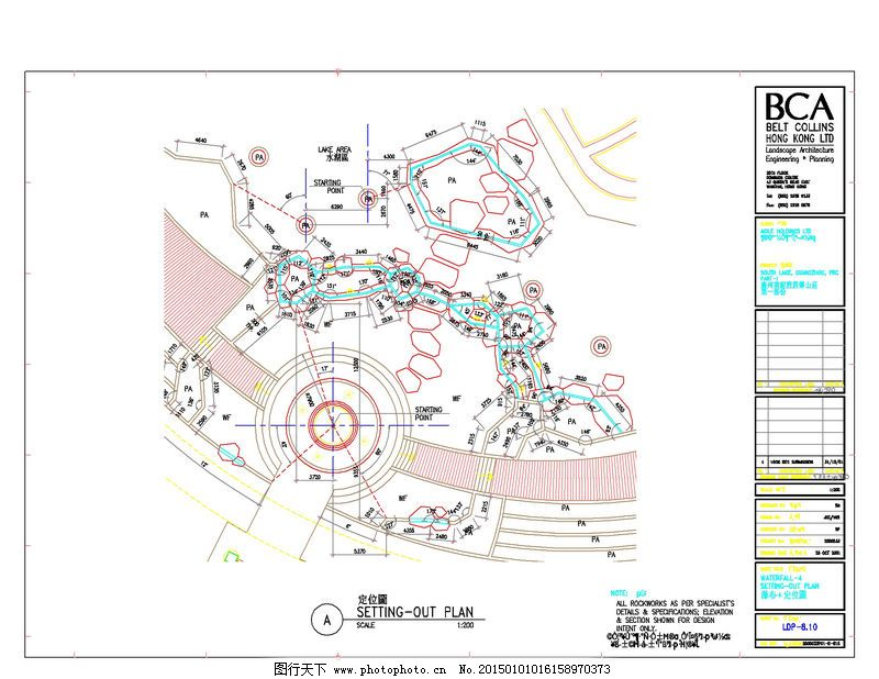 南湖半岛cad设计图素材