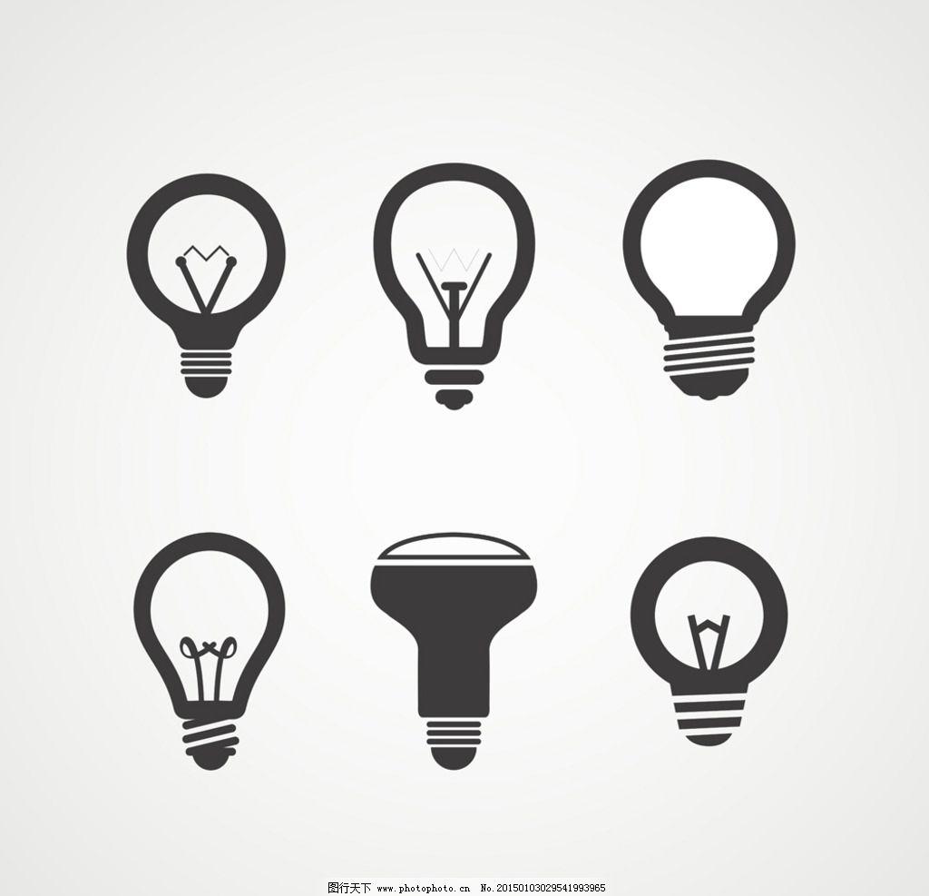 创意电灯插图
