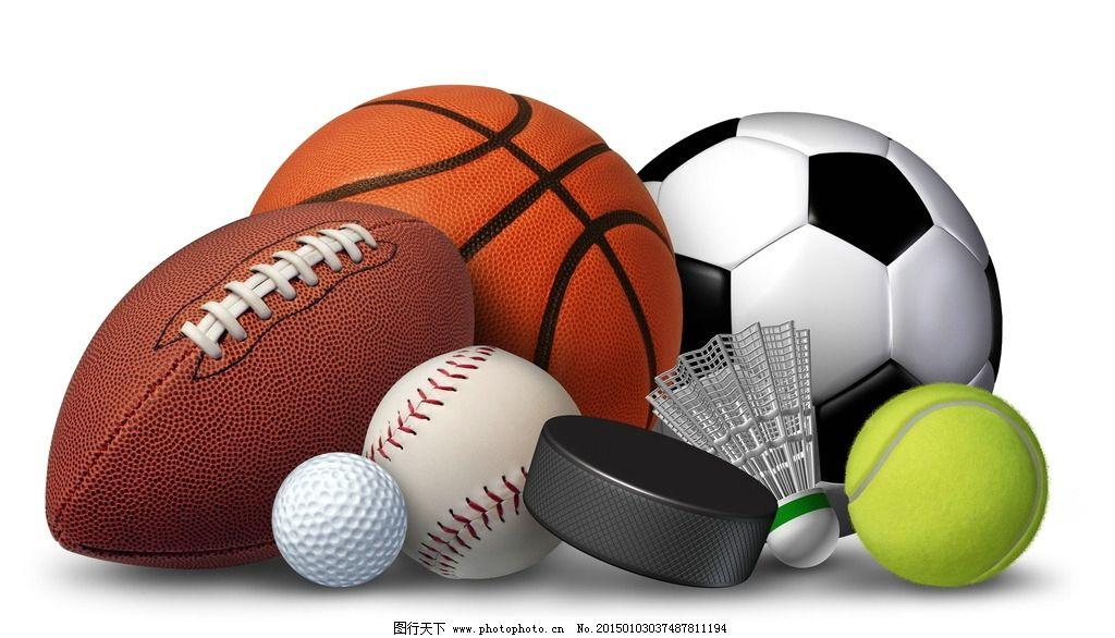 唯美球类图片,炫酷 体育 运动 橄榄球 足球 网球-图行