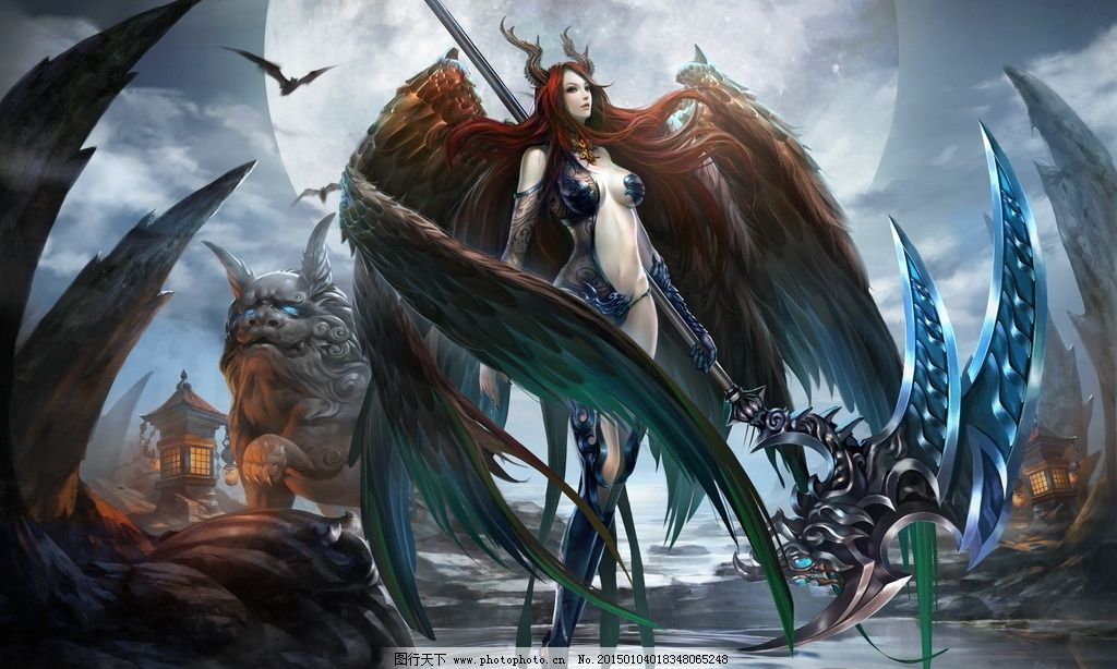 游戏 游戏原画 原画 游戏人物 人物原画 网游 玄幻 武侠 仙侠 美女