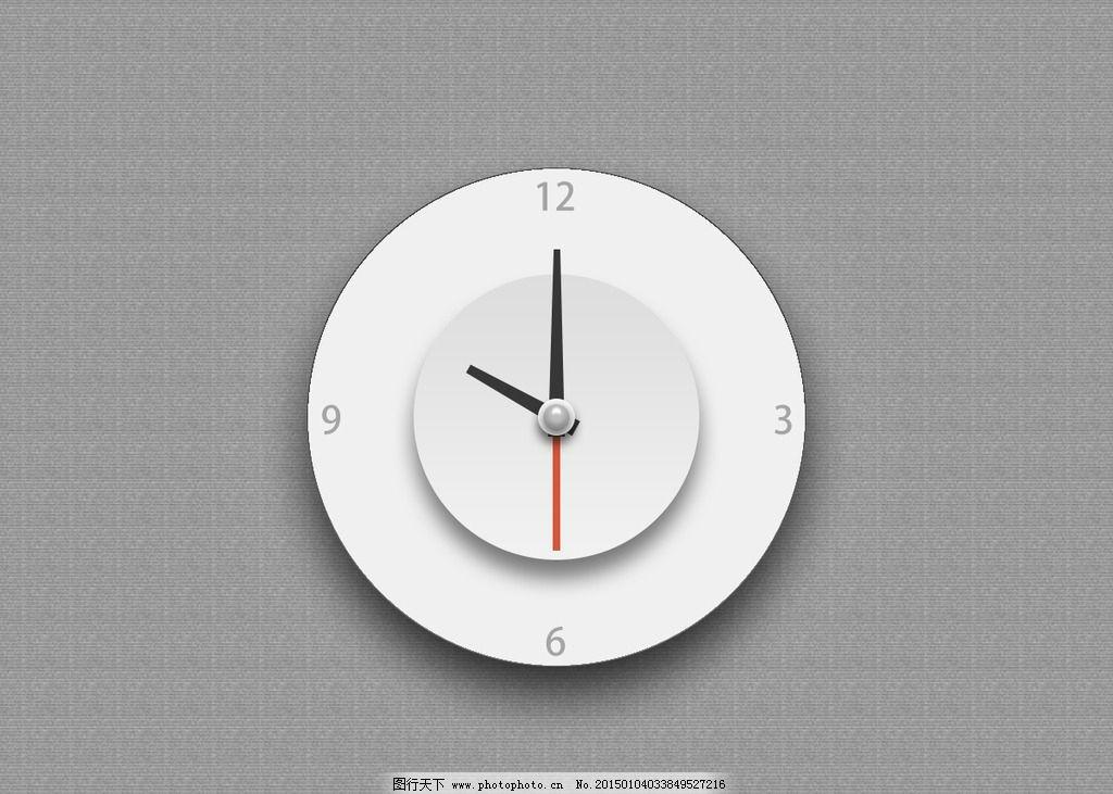 钟 钟表 圆钟 表盘 指针 其他 图片素材
