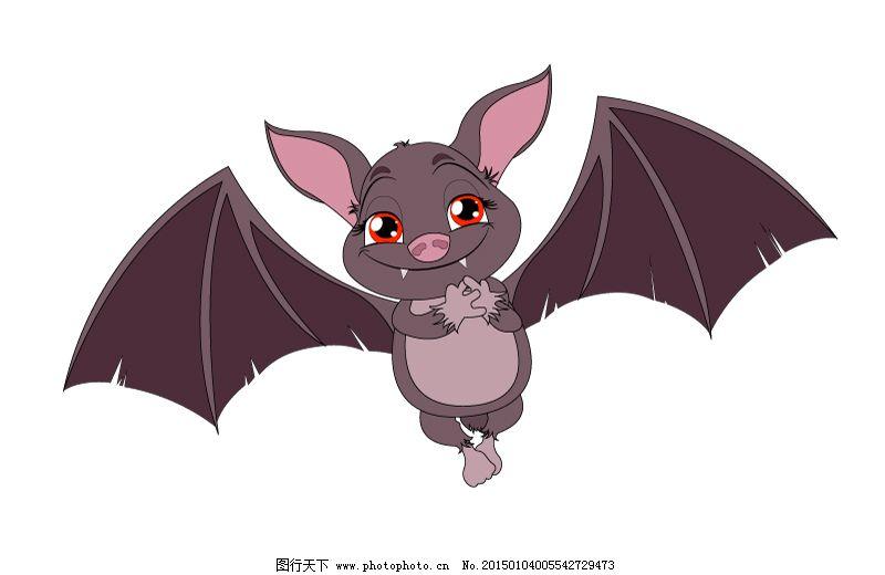 卡通蝙蝠设计