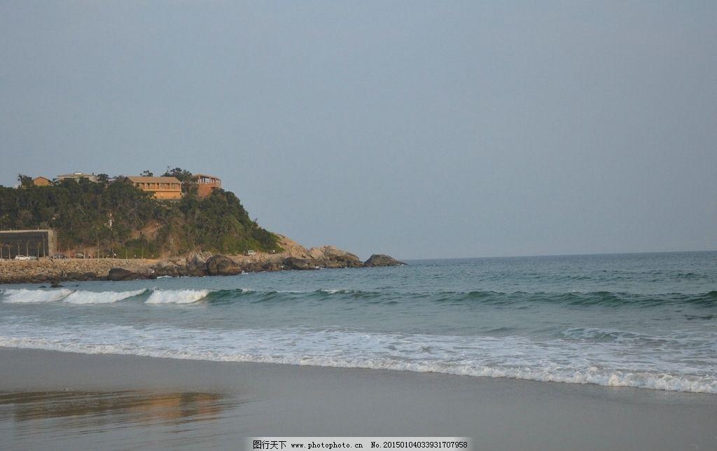 海岛 海滩 海岸 小岛 滨海别墅 旅游胜地 海浪 摄影 国内旅游