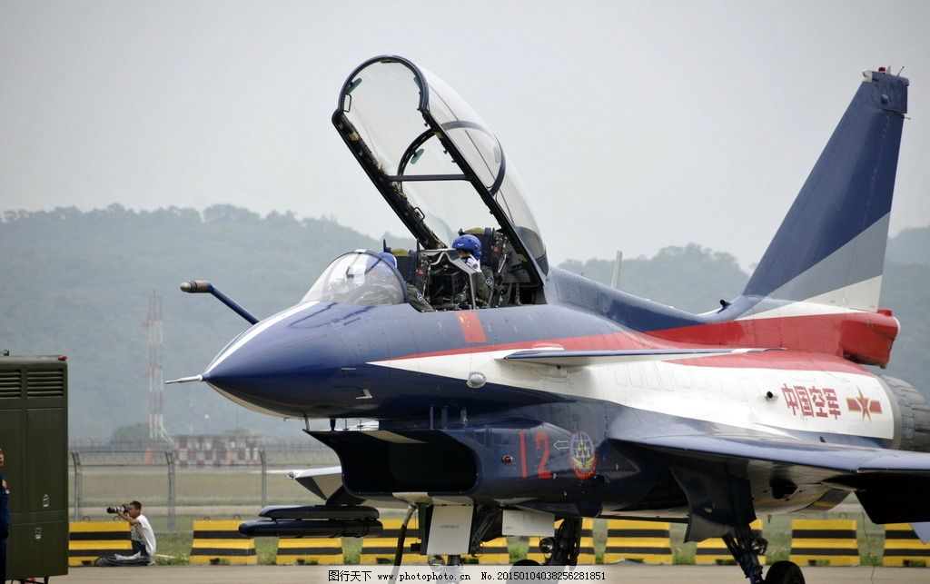 珠海航展 八一表演队 战斗机 飞机员 八一飞行表演队 摄影