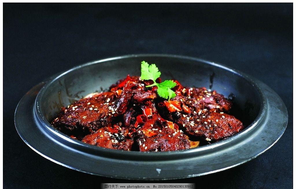 干锅辣鸭头 美食 特色菜 摄影 餐饮美食 传统美食