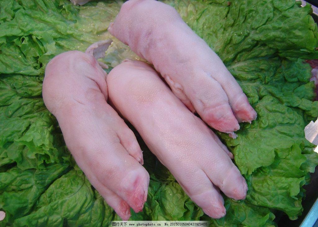 猪手 猪爪子图片