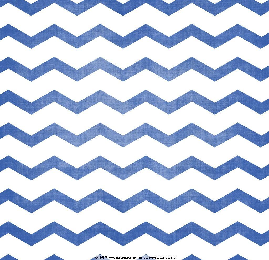 英伦风蓝色几何条纹背景素材图片-蓝色几何图形背景矢量素材 编号