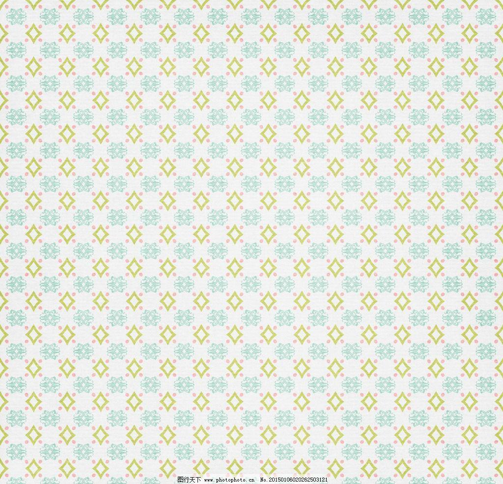 蓝色波点几何背景素材图片
