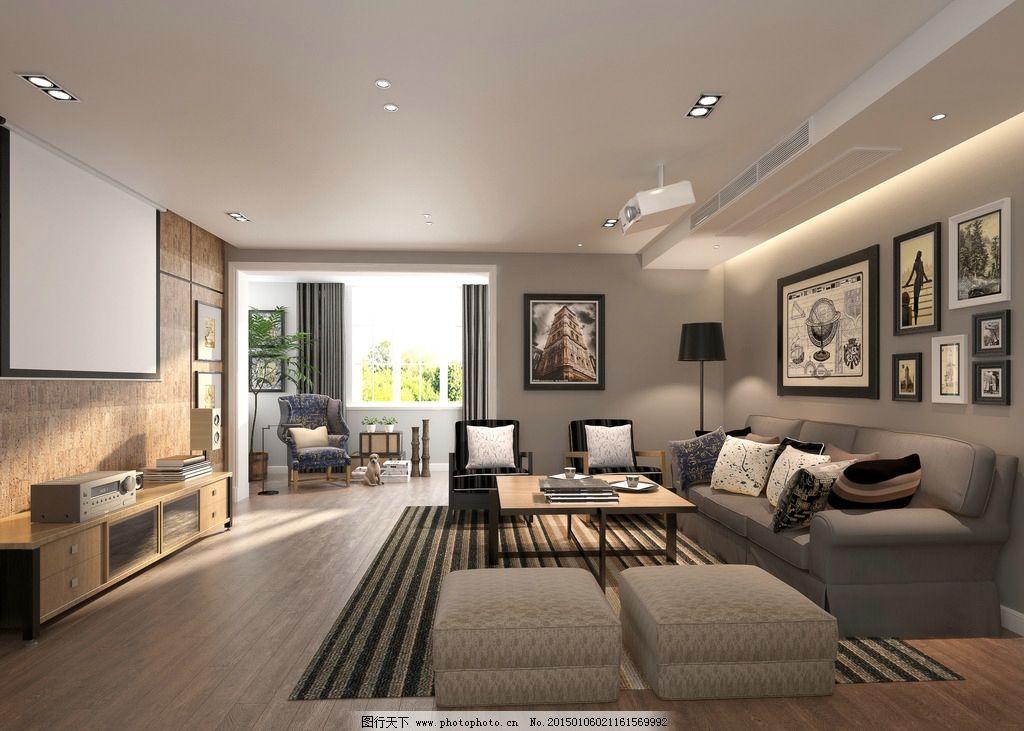 北欧风格      室内 装修 设计 设计 3d设计 3d作品 300dpi jpg图片