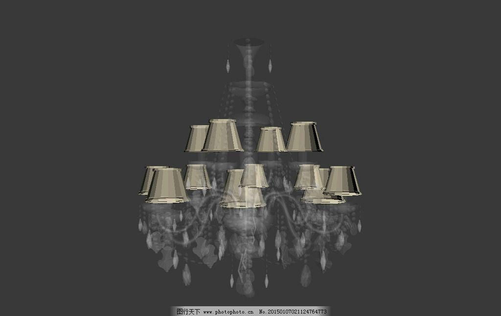 3d模型 MAX模型 室内模型 室内素材 素材 效果图 设计素材 室内设计 室内灯 吊灯 壁灯 台灯 设计 3D设计 3D作品 150DPI MAX