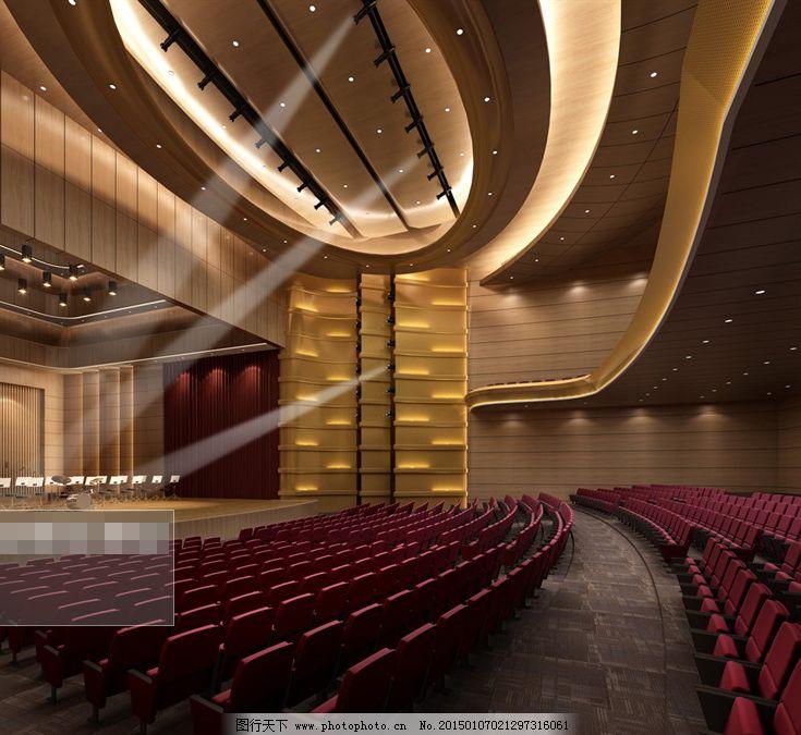 大型電影院模型免費下載 電影院 模型 藝術廳 電影院 模型 3d模型素材