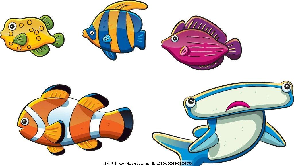 幼儿园海洋鱼类手工制作图片