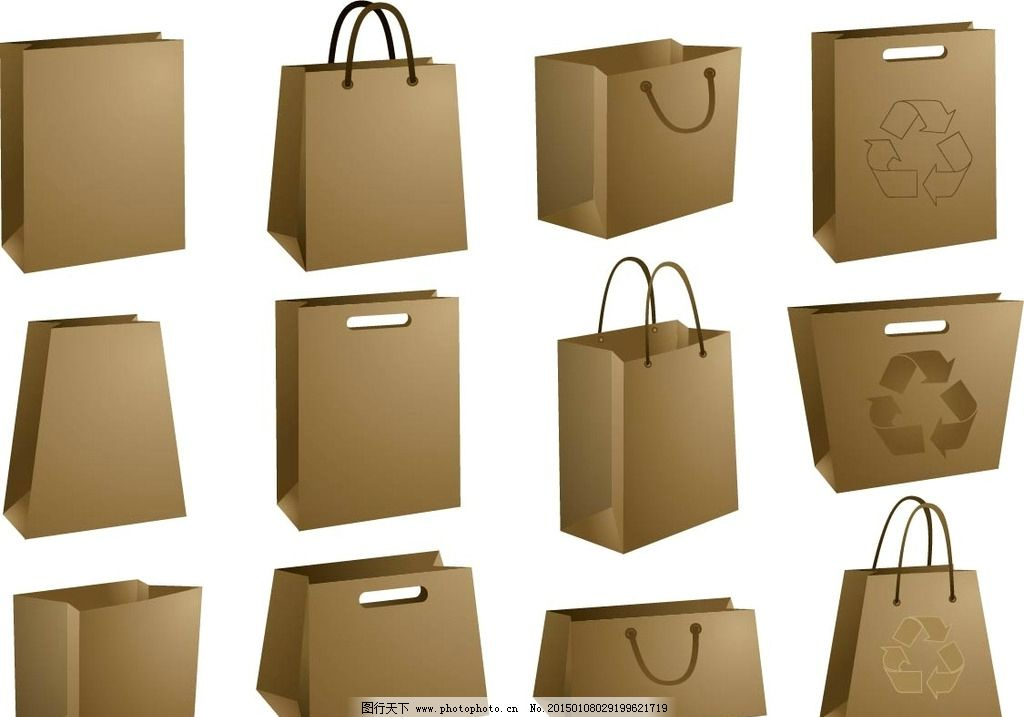 口袋 vi 素材 纸袋 手提袋 设计 广告设计 包装设计 eps