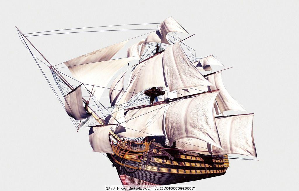 古代帆船图片