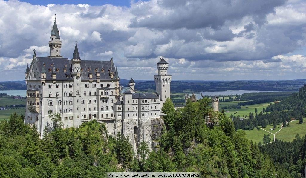 德国新天鹅堡图片