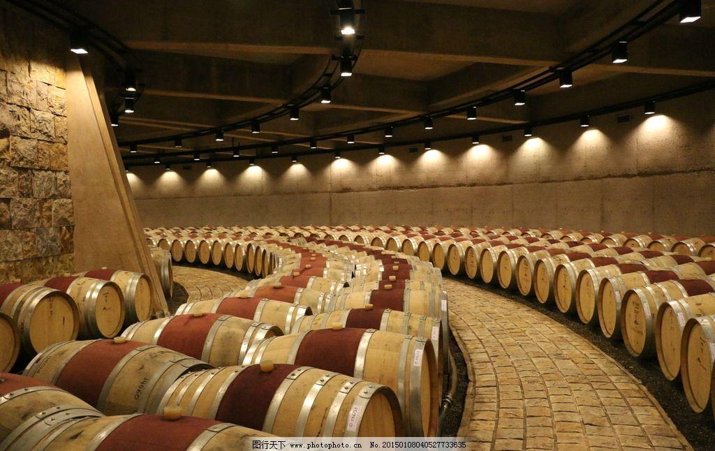葡萄酒 橡木桶 红酒
