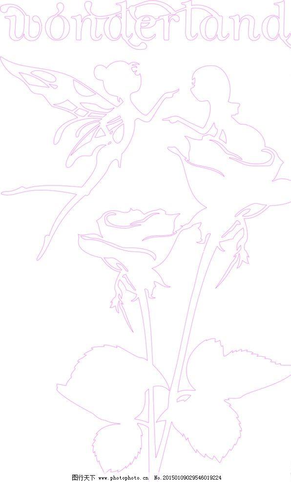天使绘画线稿步骤