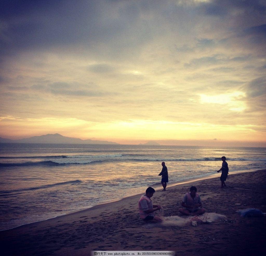 唯美 秦皇岛 自然 风景 风光 海边 大海 夕阳 落日 日落 黄昏 傍晚 摄