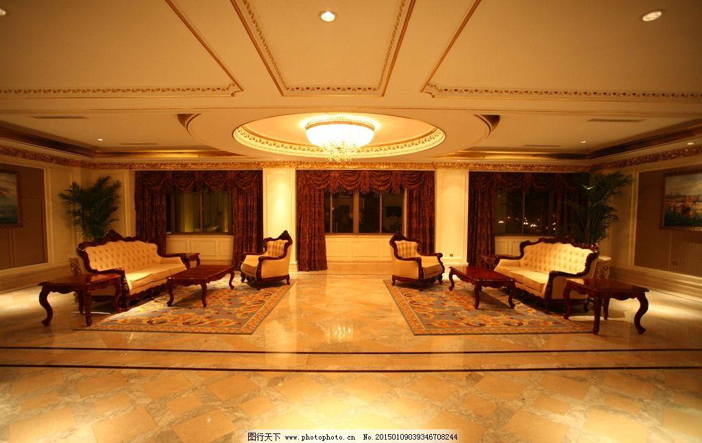 欧式大厅 西式餐厅 暖色调 会议厅 酒店休息区 餐厅 酒店 五星级酒店