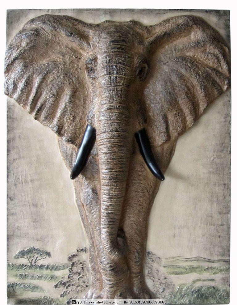 摄影 装饰画 300dpi 大象 壁饰 摄影 建筑园林 雕塑 180dpi jpg