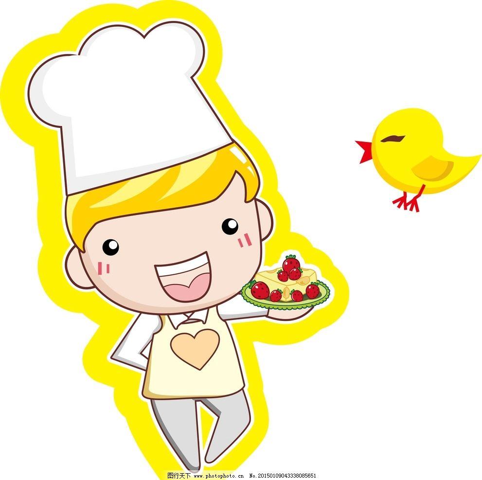 蛋糕卡通人物图片