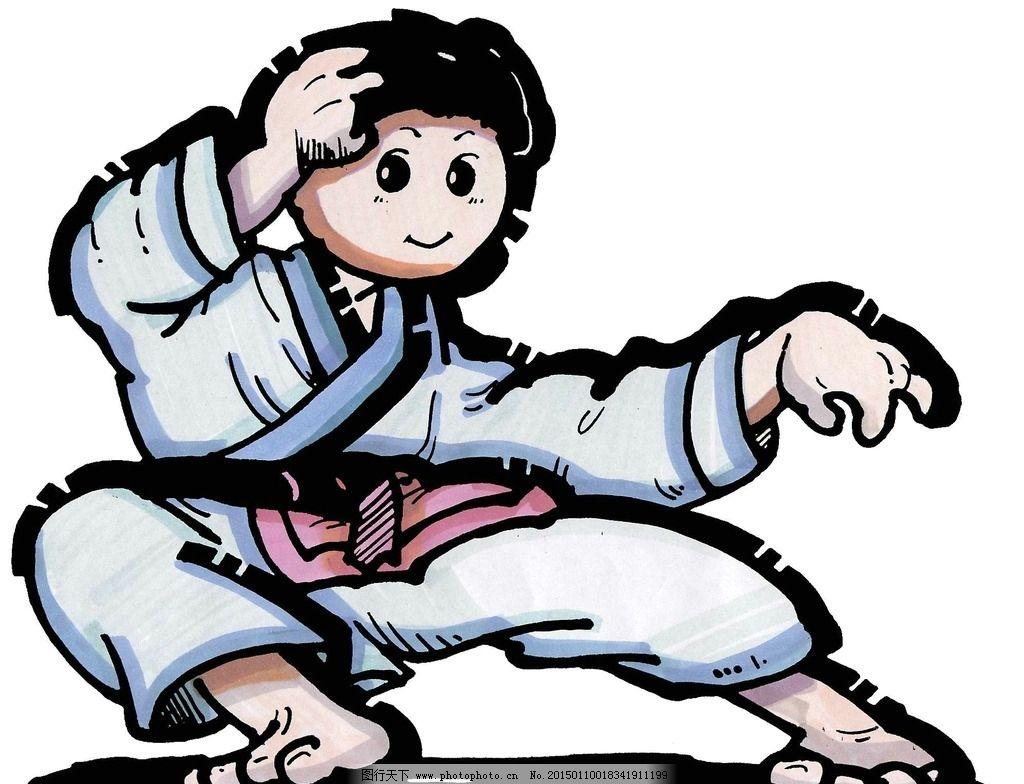 太极 卡通人物 人物 海报 宣传画 设计      设计 动漫动画 动漫人物