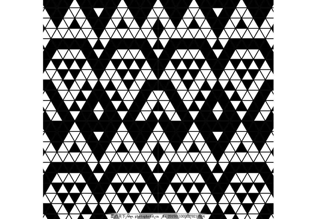 三角 几何 图形 底纹 面料 毛衣 设计 底纹边框 背景底纹 cdr