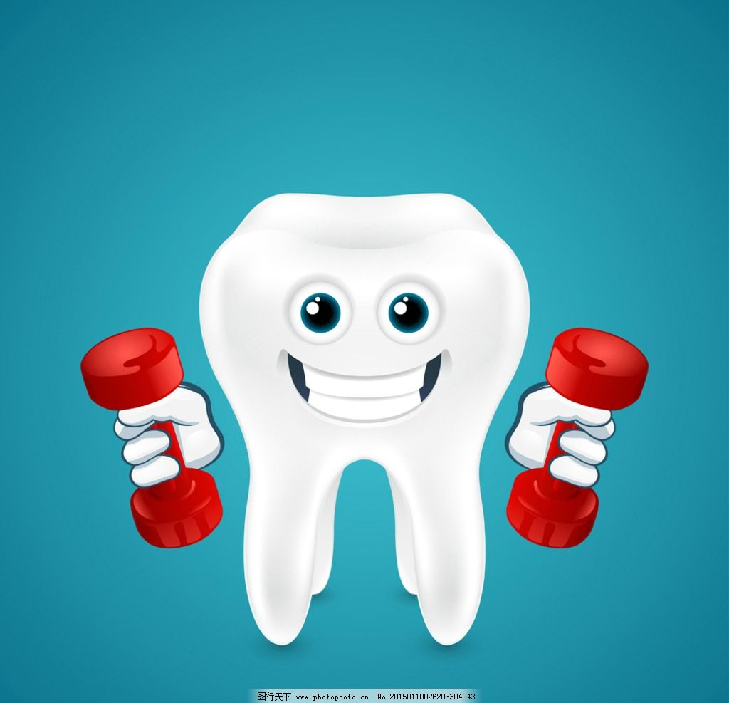 牙齿 手绘 牙齿图标 卡通表情 健康牙齿广告 矢量 设计 医疗保健 eps