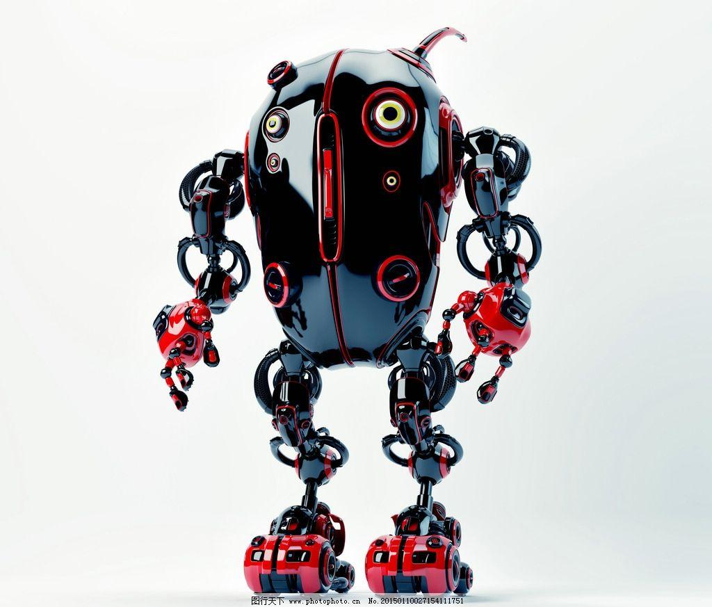 手绘图片机器人