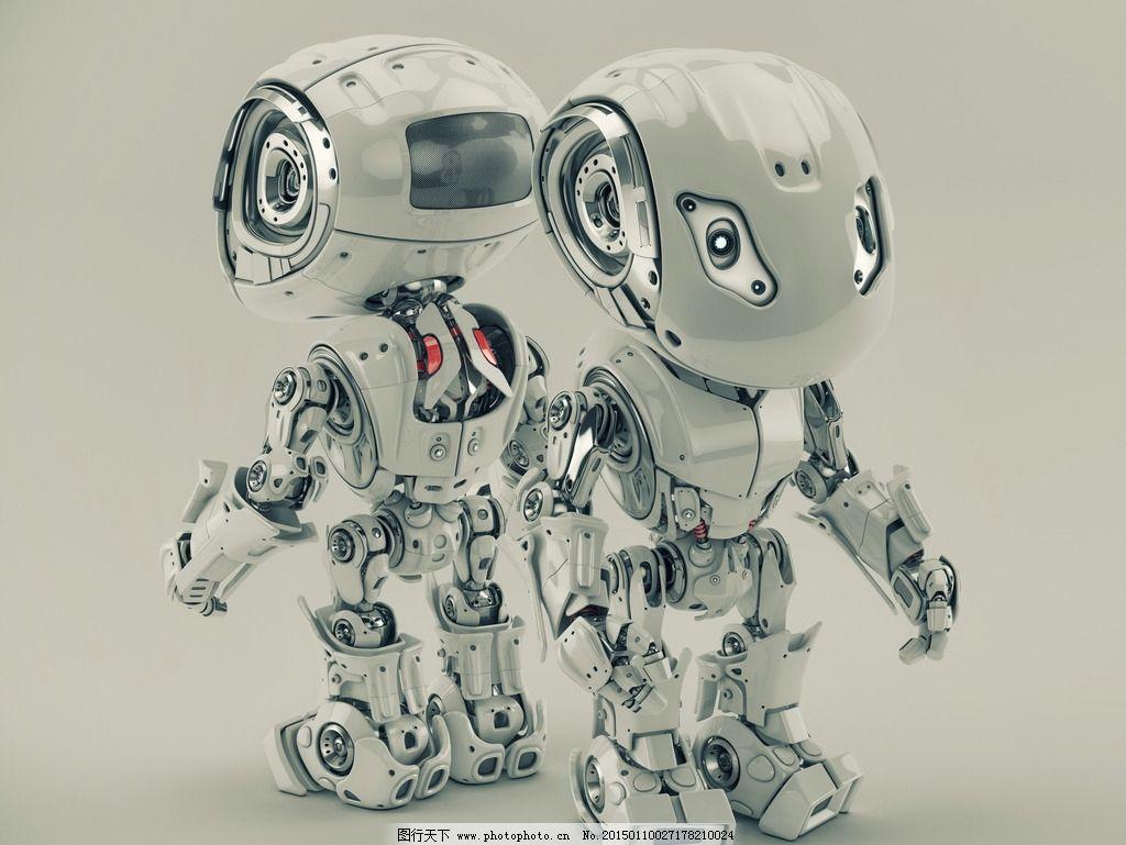 机器人 终结者 创意 手绘 卡通动漫 卡通机器人 科技时代