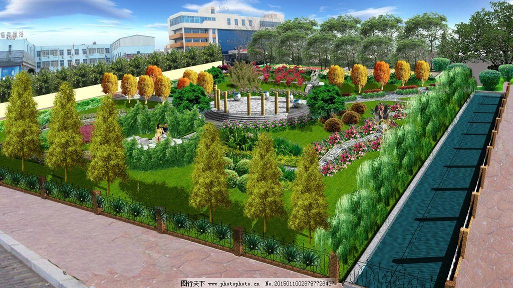 游园 办公区 园林 绿化 小公园 设计 环境设计 园林设计 72dpi jpg