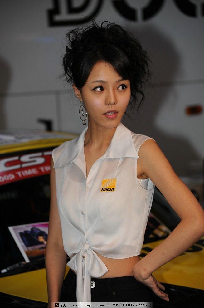 韩国模特徐珍儿图片