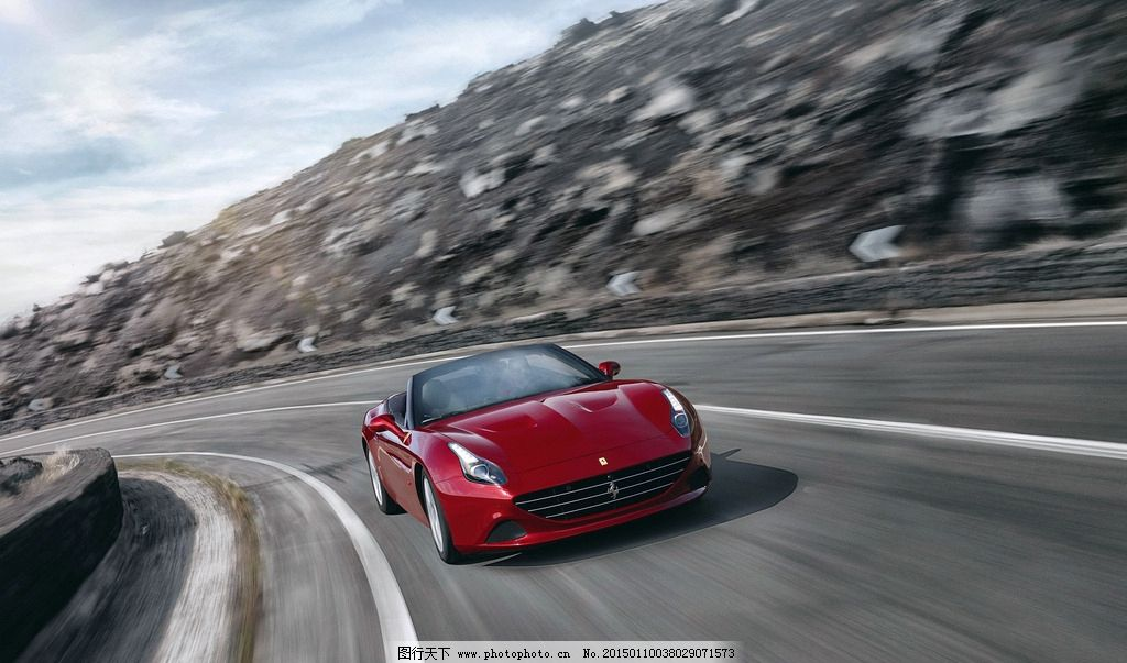 法拉利 唯美 炫酷 跑车 汽车 豪车 现代 时尚 动感 奢华 摄影