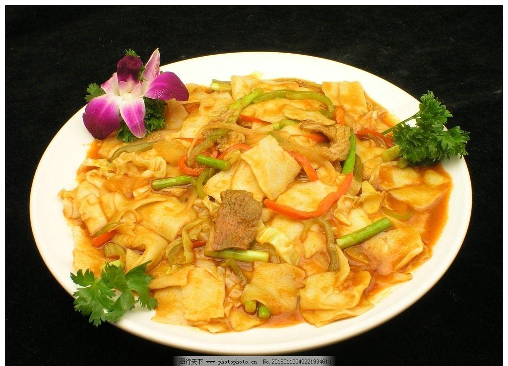 炒面片美食,美食v面片美食菜家常菜图片图片传统传统背影图片