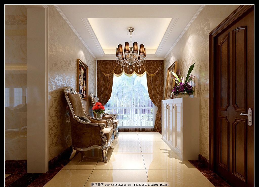 客厅走廊 鞋盒 鞋柜 过道 室内效果 卧室效果图 大理石效果 欧式效果