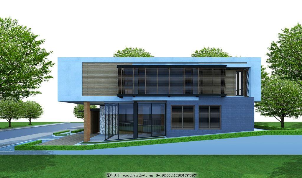 别墅图片_建筑设计_环境设计