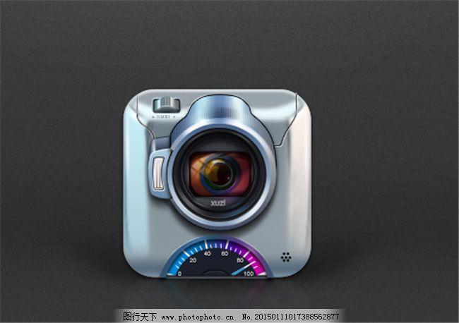 照相机UI设计素材弱电绘制图竣工要求图片