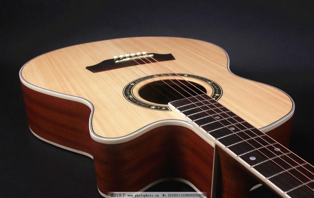 木吉他面板素材图片