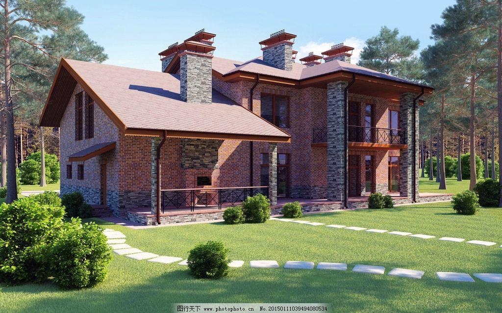 别墅 房屋 屋子 建筑摄影 欧式建筑 楼房 国外小洋楼 城市建筑