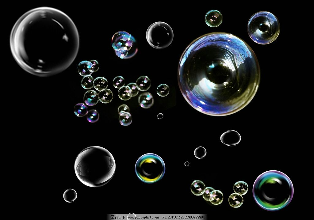 泡泡背景 泡沫 透明泡泡 夜晚泡泡 圆泡 源文件库 设计 psd分层素材