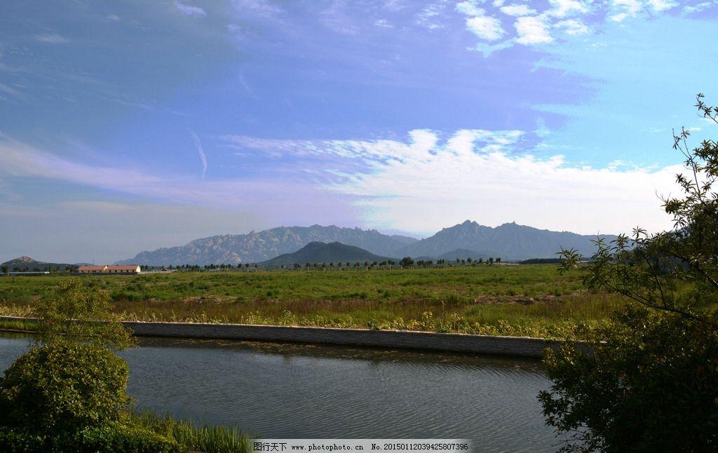 山水怡情 天逸海湾 崂山 水景观 崂山北麓 鹤山 摄影 建筑园林