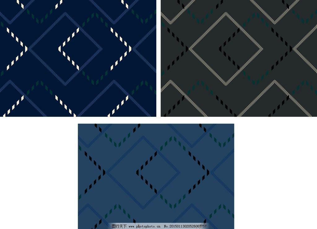 时尚 休闲 简约 格子 cdro 欧美时尚花型 设计 底纹边框 条纹线条 cdr