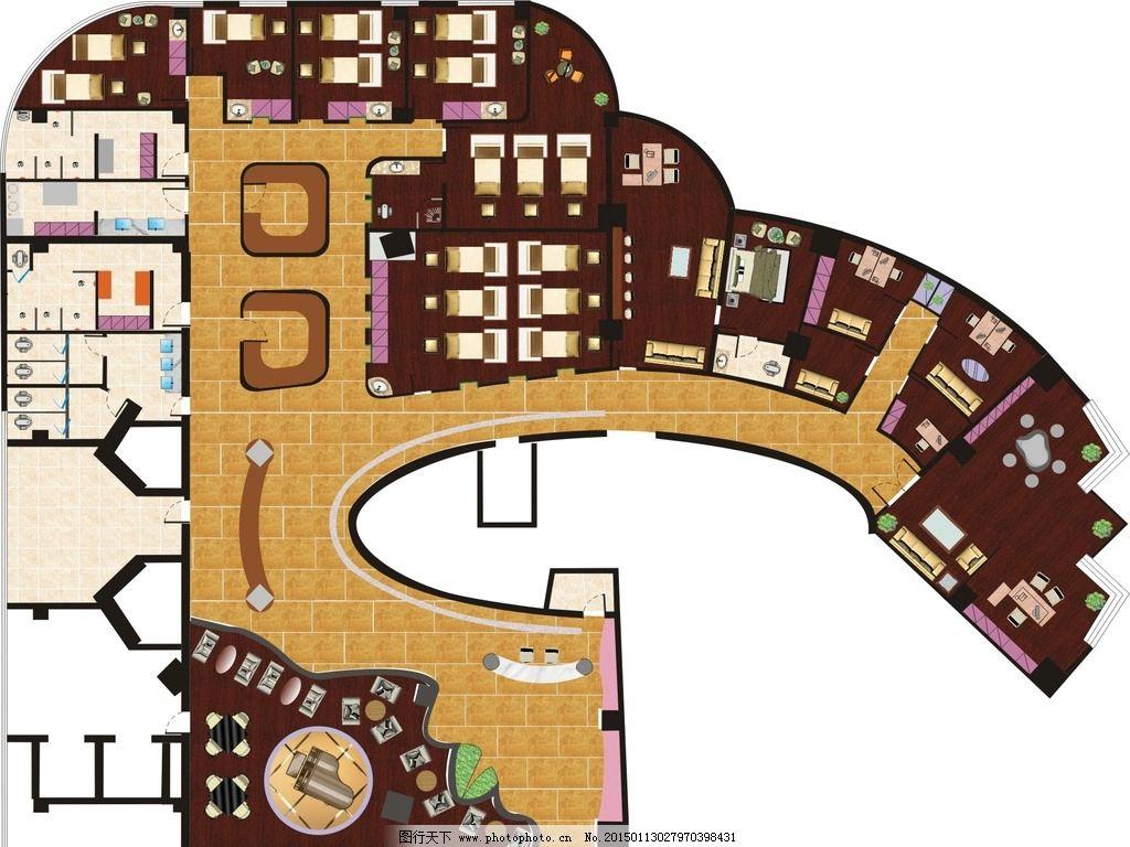 办公室 地板 钢琴 瓷砖 床        水池 瑾子设计 设计 环境设计 室内
