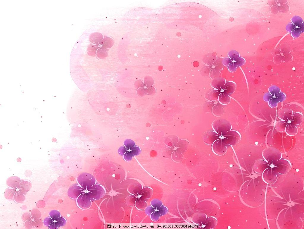 飘落花朵简笔画步骤