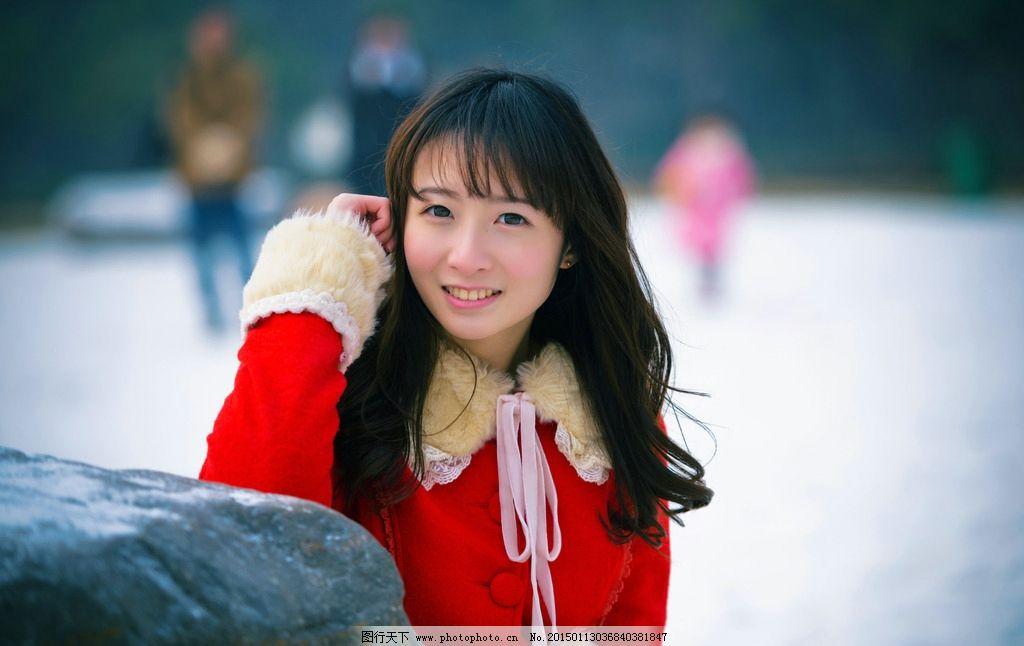 清新 校园 甜美 日系 lomo 美女 微笑 欢乐 欢快 阳光 校服 摄影 人物