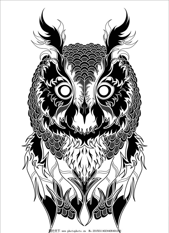 动物纹身图案图片