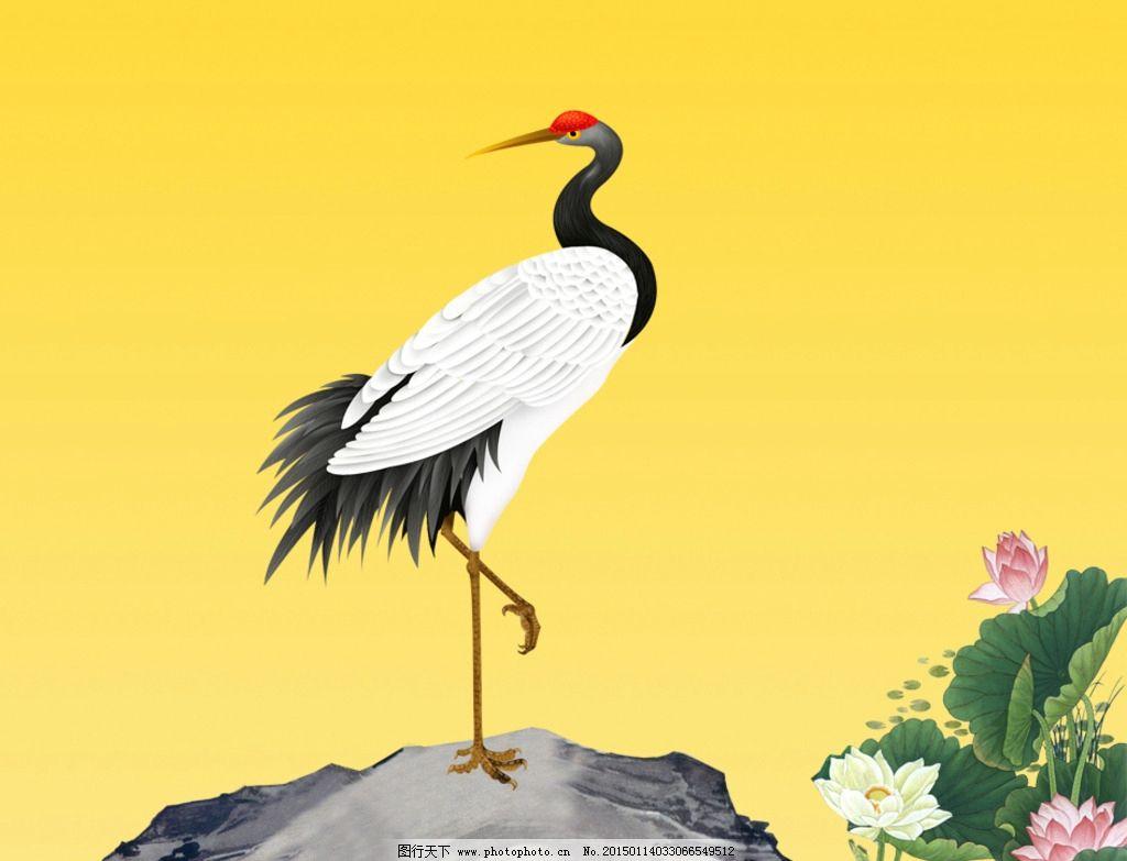 白鹤素材图片