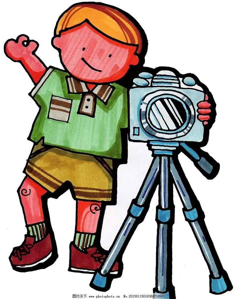 拍照 卡通高清图片_动漫人物_动漫卡通_图行天下图库