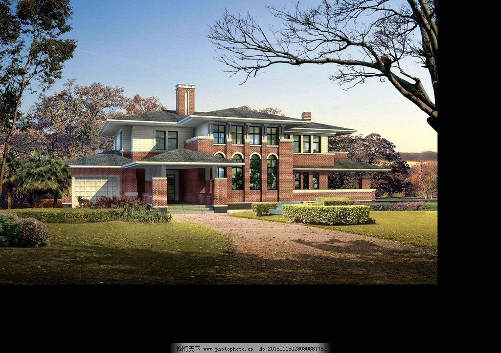室外 建筑 古建 欧式 外景 别墅 素材 设计 环境设计 建筑设计 72dpi