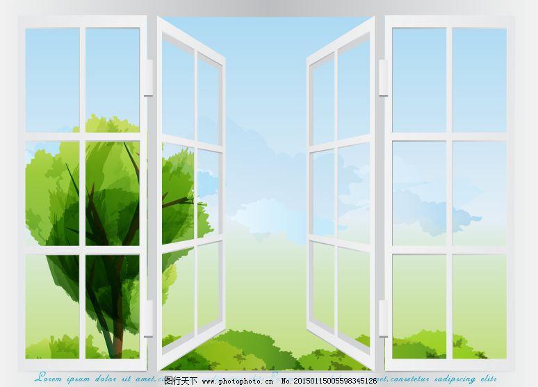 窗户边框简笔画